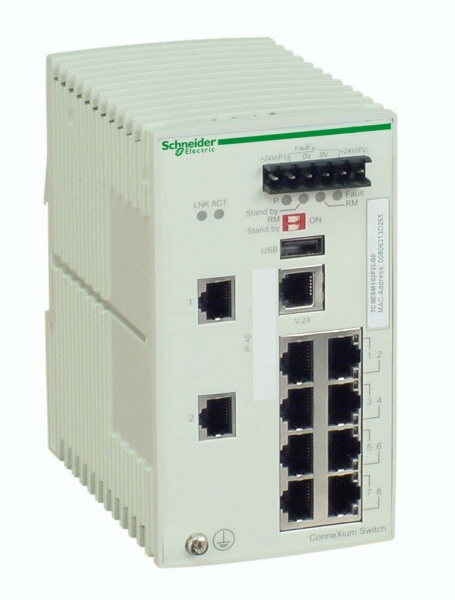 КОММУТАТОР-CONNEXIUM-(MANAGED)-8TX/2SFP
